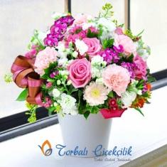 Seramikte Mevsim Çiçekleri